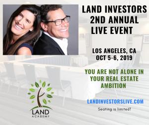 Land investors 2nd live event. Los angeles 2019